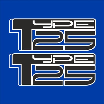 "Picture of Subaru Impreza  WRX STI ""Type 25"" Decals / Stickers"