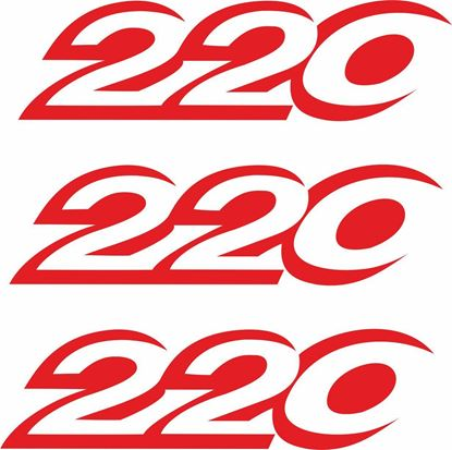 "Picture of Vauxhal Insignia ""220""replacement side Decals / Stickers"