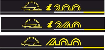Picture of Opel Manta B Sun Strip / Visor  Decal / Sticker