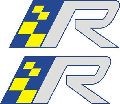 "Picture of Volvo ""R ""Design Decals / Stickers"