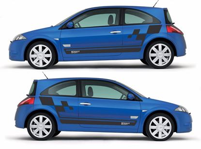 Picture of Renault Megane sport side Stripes / Stickers