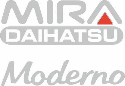 Picture of Daihatsu Mira Moderno 1992 - 1994  replacement rear / hatch  Decals / Sickers