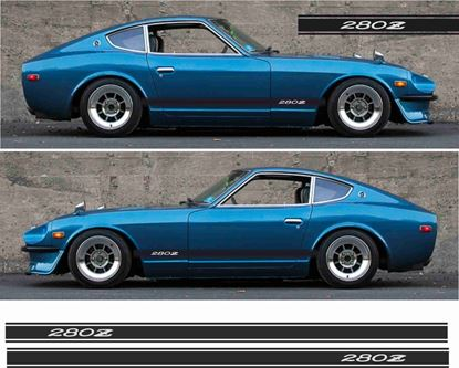 Picture of Datsun 280Z / Nissan Fairlady Z Side stripes Decals / stickers