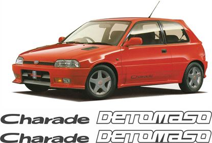 Picture of Daihatsu Charade 1.6 16V  Detomaso  replacement side  Decals / Stickers