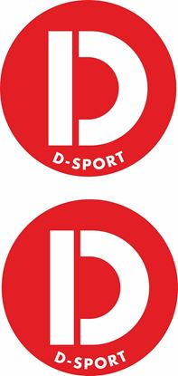 "Picture of Daihatsu ""D Sport"" Decals / Stickers"