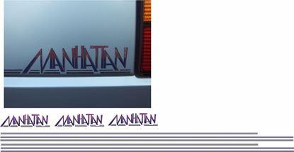 """Picture of MK2 Golf """"Manhattan"""" restoration Decals / Stripes"""