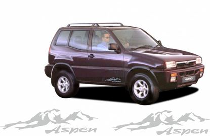 "Picture of Ford Maverick ""Aspen"" 1992 - 1999 Replacement side Decals / Stickers"