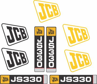 Picture of JCB JS330 Replacement Decals / Stickers