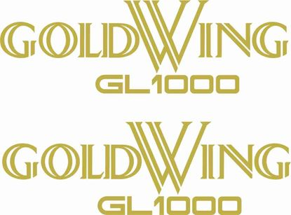 Picture of Honda Goldwing GL1000 Decals / Stickers