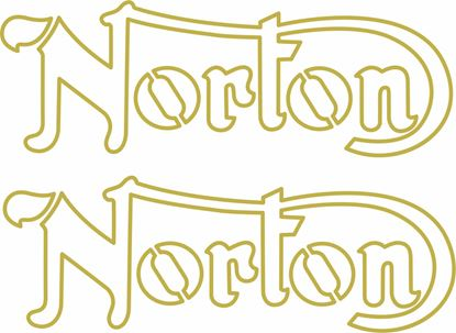 Picture of Norton restoration Decals / Stickers