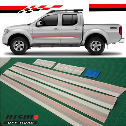 Picture of Nissan Navara / Frontier / Terrano  Nismo off road Side  Stripes /  Stickers