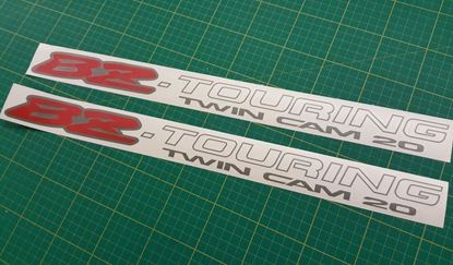 Picture of Toyota Corolla BZ-Touring Wagon lower side  Decals / Stickers