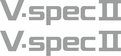 Picture of Nissan Skyline R32 / R33  V-Spec II replacement rear Decal / Sticker (1 spare)