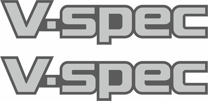 Picture of Nissan Skyline R32 V-Spec replacement rear  Decal / Sticker