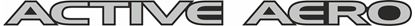 """Picture of GTO / 3000GT """"Active Aero"""" Front Aero Tray  Decal / Sticker"""