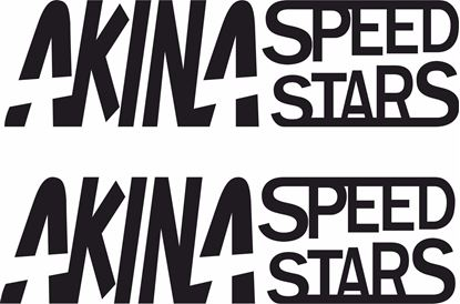Picture of Akina Speed Stars Decals / Stickers