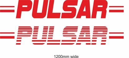 "Picture of Nissan  ""Pulsar"" Backflash Screen Sticker / Decal"