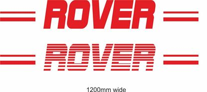 "Picture of Austin / Rover ""Rover"" Backflash Screen Sticker / Decal"