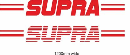 "Picture of Toyota  ""Supra"" Backflash Screen Sticker / Decal"