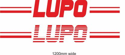 "Picture of VW  ""Lupo"" Backflash Screen Sticker / Decal"