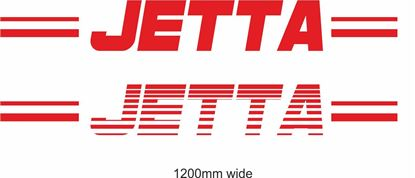 "Picture of VW  ""Jetta"" Backflash Screen Sticker / Decal"