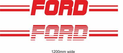 "Picture of ""Ford""  Backflash Screen Sticker / Decal"