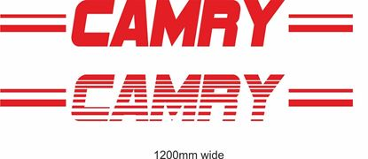 "Picture of Toyota  ""Camry"" Backflash Screen Sticker / Decal"