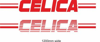 "Picture of Toyota  ""Celica"" Backflash Screen Sticker / Decal"