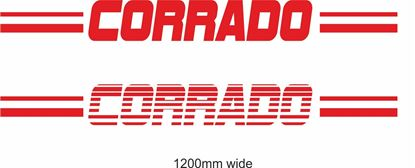 "Picture of VW  ""Corrado"" Backflash Screen Sticker / Decal"