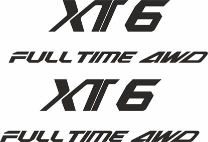 Picture of Subaru Alcyone XT Turbo replacement side Decals / Stickers
