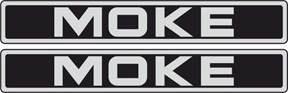 Picture of Mini Moke front / general panel replacement Decals / Stickers