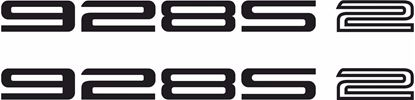 "Picture of Porsche ""928S 2""  General panel Decals / Stickers"