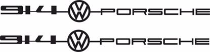 "Picture of Porsche ""914 VW Porsche""  General panel Decals / Stickers"
