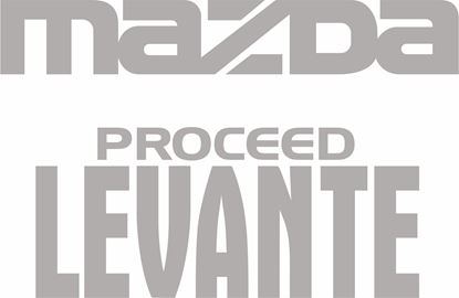 Picture of Mazda Proceed Levante replacement rear Decals / Stickers