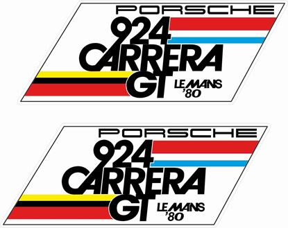 Picture of Porsche 924 Carrera GT Le Mans general panel Decals /  Stickers