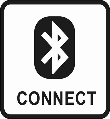 "Picture of Bus / Coach ""Bluetooth Connect"" Sticker"