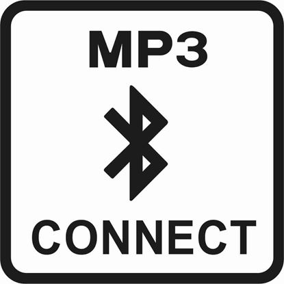 "Picture of Bus / Coach ""MP3 Connect"" Sticker"