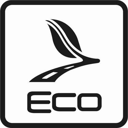 "Picture of Bus / Coach ""Eco"" Sticker"