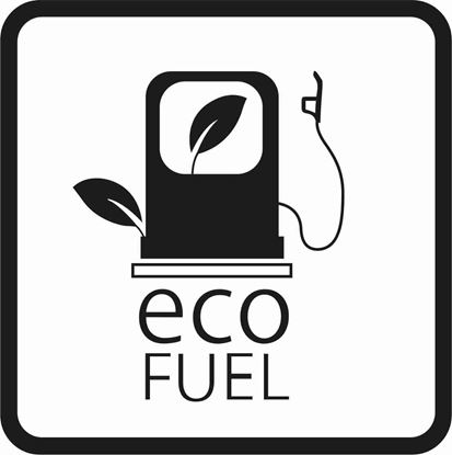 "Picture of Bus / Coach ""Eco fuel"" Sticker"