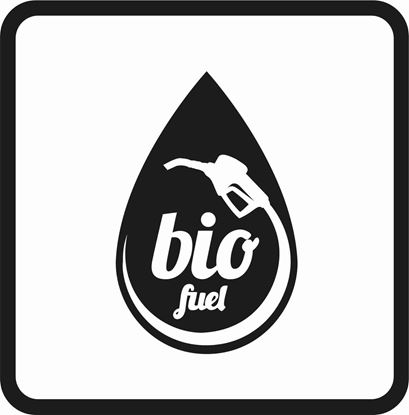 "Picture of Bus / Coach ""Bio Fuel"" Sticker"