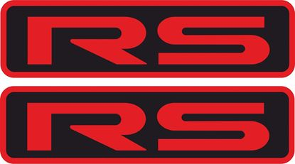"Picture of Mitsubishi Lancer ""RS"" 1992 - 1993 replacement Decals / Stickers"