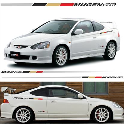 Picture of Honda Integra Type R DC2 / DC5 Mugen side Stripes/ Stickers