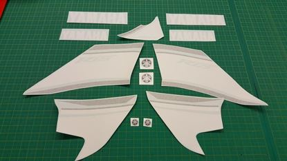 Picture of Yamaha YZF R125  Replacement Decals / Stickers