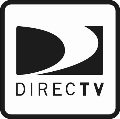 "Picture of Bus / Coach  Satellite ""Direct TV"" Sticker"