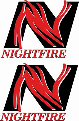 "Picture of Mini replacement side ""Nightfire"" Decals / Stickers"