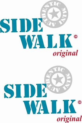 "Picture of Mini replacement side  ""Side Walk"" Decals / Stickers"
