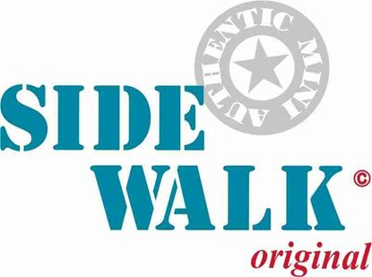 """Picture of Mini replacement rear lid """"Side Walk"""" Decal / Sticker"""