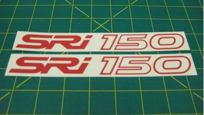 "Picture of Vauxhall ""SRi 150""  panel Decals / stickers"