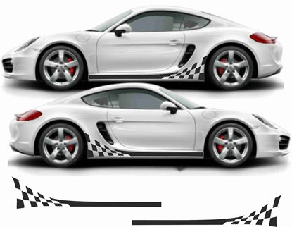 Picture of Porsche 781 Cayman stripes / Stickers