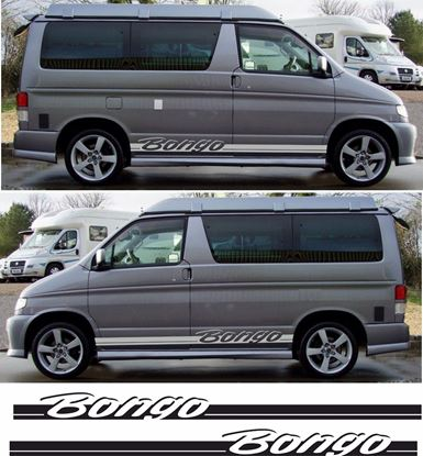 "Picture of Mazda Friendee ""Bongo"" side stripes / Stickers"